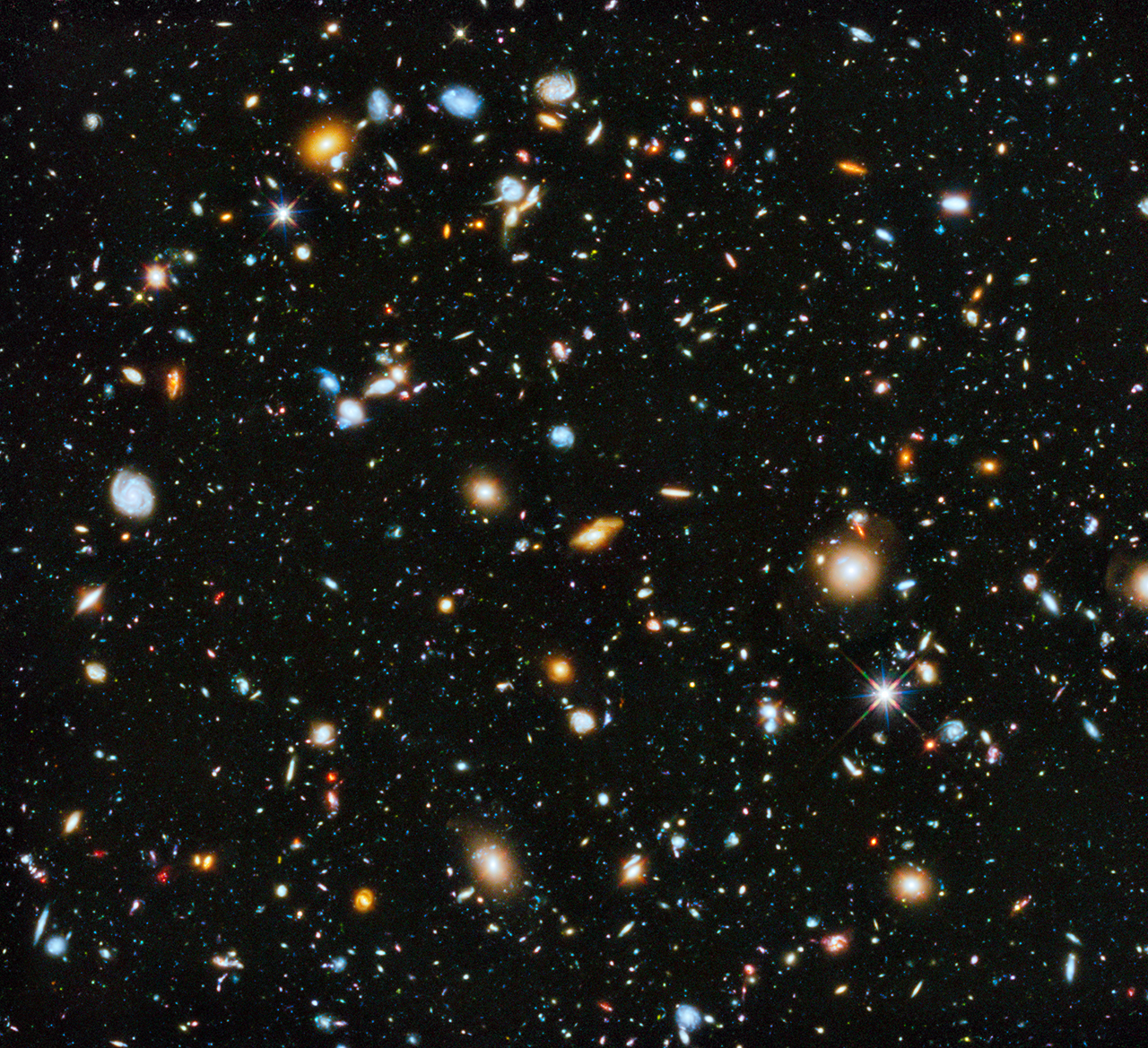 Deep space image