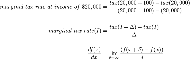 Examples of Marginal Tax Rate in a sentence