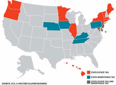 States With Inheritance Tax